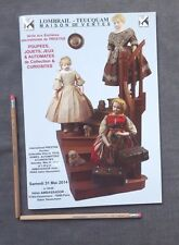 French Doll Auction Catalog LOMBRAIL TEUCUQAM May 31, 2014, Furniture, Clothing