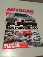 Autocar Weekly Magazines