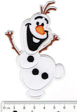 kiTki Disney Frozen Olaf iron-on embroidered patch emblem applique knit weave