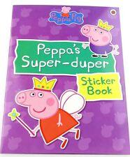 Peppa Pig ~ PEPPA'S SUPER-DUPER STICKER BOOK LADYBIRD BOOK Activities & Stickers