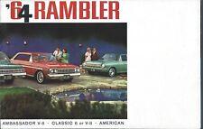 Auto Brochure - Rambler - Classic Ambassador 8 American 1964 1965 2 item(A1278)