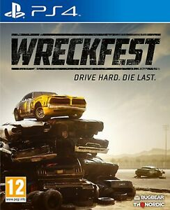 Wreckfest PS4 Brand New Factory Sealed PlayStation 4