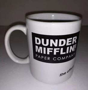 The Office Coffee Mug Tea Cup Dunder Mifflin Paper Co Ceramic White