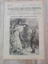 Journal illustré 1909  - Veillées des Chaumières - 12 Juin - Fierté de Race...