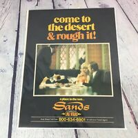 Vintage 1975 Las Vegas SANDS Hotel Genuine Magazine Advertisement Print Ad