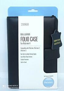 Genuine Leather Folio Case Cover For Apple iPad Mini 2, 3 & 4 Auto Wake/Sleep