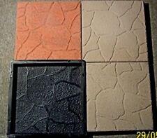 5 Schalungsformen für Terrassenplatten- Bruchsteinoptik