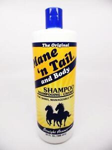 The Original Mane 'n Tail and Body Shampoo for Horses, 32 fl. oz.