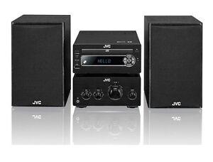 JVC UX-D750 100W MICRO HIFI STEREO AMP DAB+ CD WIRELESS BLUETOOTH 4.0 NFC USB