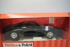 Tonka / Polistil 1:16 16816 Ferrari GTO, schwarz, Die Cast