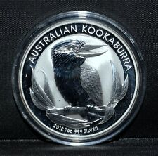 AUSTRALIA 2012 1 OZ SILVER KOOKABURRA ✪ BU UNCIRCULATED ✪ 999 FINE OZT ◢TRUSTED◣