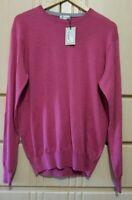 Peter Millar Merino Wool Silk Crewneck Sweater Mens M & XL NWT $160.00