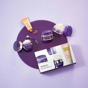 Avon Anew Platinum Skincare Program Contour Day Night Eye Lip Cream Serum Gift