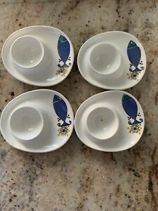Four Vintage Egg Cups