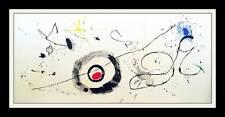 Spanish Artist Joan Miro, Le Traversee du Miroir, Large Auth. Color Lithograph