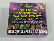 Aztech New Media over 250 games on 7 CD ROMS Doom Wolfenstein 3D Duke Nuke'm