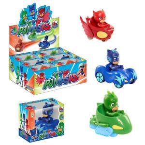 PJ Masks Action Figures Gekko Catboy Owlette Doll Car Set Kids Boy Girl Toy Gift