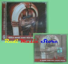 CD STORIA CANZONE ITALIANA 6 compilation PROMO SIGILL BOOM LEALI MINA TONY (C16)
