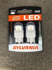 Sylvania 7443 ZEVO SUPER BRIGHT LED Lamps Bulbs