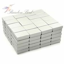 Lot of 6 ~ 48 Earring Ring Necklace Cardboard Jewelry Gift Boxes 3 1/4*2 1/4*1