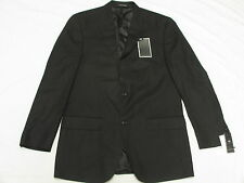 $275 NWT Mens Sean John Tonal Stripe Peak Blazer Suit Jacket Black Size 40L M498