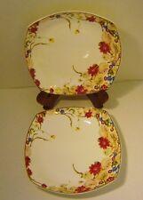 """Royal Bone China Dinnerware """"DREAMS OF PARIS"""" from Tangshan Longda 2 Plates"""