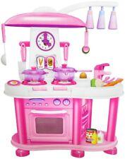 Spielküche in pink Küche für Kinder Spielzeugküche Kaufmannsladen Lebensmittel