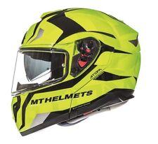 Casco, Helmet, Modular MT ATOM SV Divergence Fluor T.L con pinlock