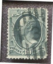 Scott No. 190 - 30c Black