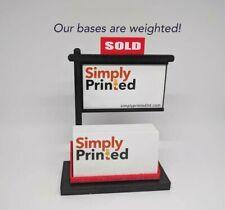 Lot Of 10 Real Estate Business Card Holder Real Estate Card Display Black Amp Red