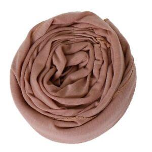 Fashion Soft Cotton Jersey Hijab Scarf Shawl Elasticity Headscarf Muslim Scarves