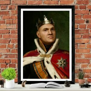 Tyson Fury The Gypsy King Poster Art Picture Print