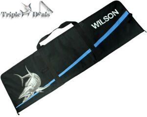 New Wilson Heavy Duty Insulated Fish Storage Bag with Internal Lining-Double Zip