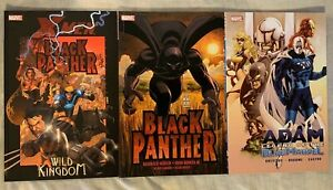 Adam Legend of the Blue Marvel TPB 1st Print NM; Black Panther & BP Wild Kingdom