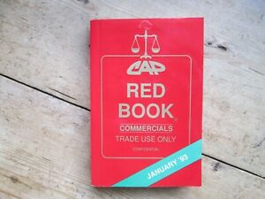 CAP RED BOOK JANUARY 1993 UNUSED AND TIME WARP CONDITION