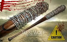 Lucille - The Walking Dead - Negan's Bat - Real Steel Barb Wire/Prop/Collectible