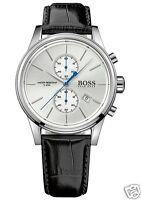 Original Hugo Boss HB 1513282 Jet Chronograph Herrenuhr Leder Schwarz  NEU!