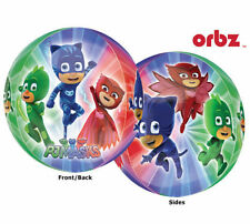 """PJMASKS Birthday Party Supply 15 in"""" ORBZ Balloon Party Supply"""