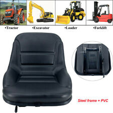 New Complete Lawn Mower Garden Tractor Seat Fits Most Brands Black Medium Back
