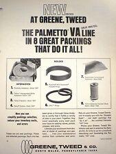 GREENE TWEED Palmetto Packing ASBESTOS Ad 1971