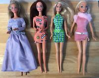 ❤ 4 Vintage Mattel Barbie Dolls 1966 1979 1999 2 TNT BD18