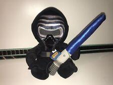 Star Wars Posh Paws Kylo Ren Plush & Build A Bear Lightsaber Light Sound Blue