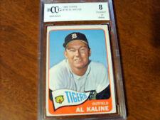 Al Kaline GRADED CARD!! Beckett BCCG 8!!!! 1965 Topps #130 Tigers HOFer!!