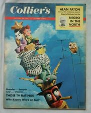 COLLIER'S Magazine October 29 1954  Groucho DRAGET I LOVE LUCY GLEAson