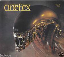 Cinefex #50 Alien 3 Lawnmower Man Joseph Viskocil Rare Behind the Scenes Pics