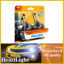 2PCS Philips Headlight Lights Bulbs Low Beam For Aston Martin V12 Vantage 10-16