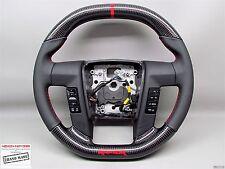 Ford Raptor F150 SVT FLAT TOP BOTTOM Napa Custom Thicker CARBON Steering WHEEL