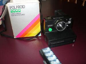 Polaroid 2000S Green Button Land Camera