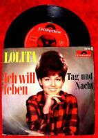 Single Lolita Ich will leben (Polydor 52 663) D 1966 w/ Hans Last
