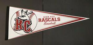 "River City Rascals Frontie League Baseball Pennant 29.5"" x 12"""
